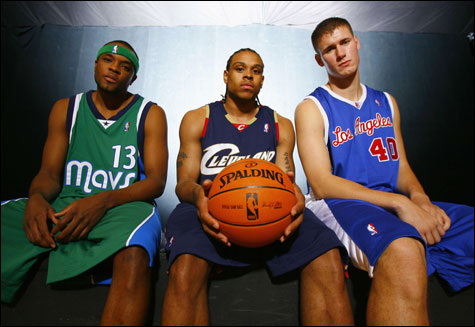 Maurice Ager, Shannon Brown, and Paul Davis 2002 Dream Team